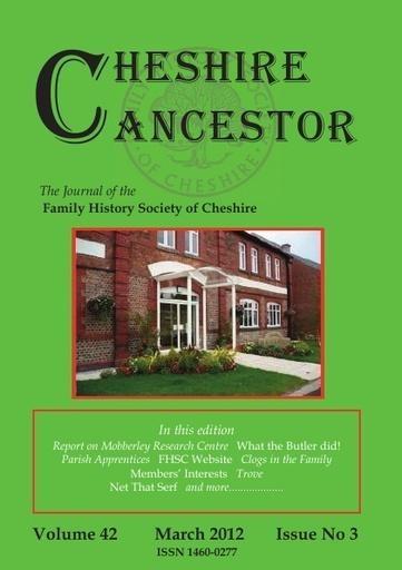 Cheshire Ancestor Sample
