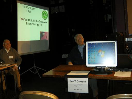 Geoff Johnson   Computer Club