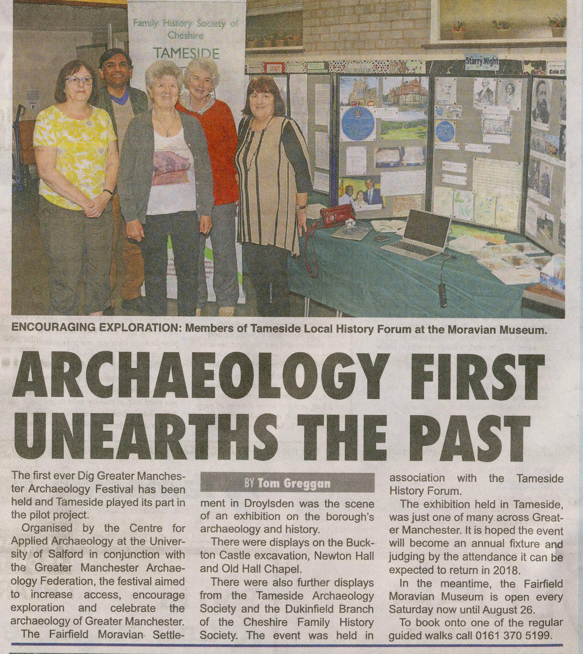 Archaeology Dig Manchester