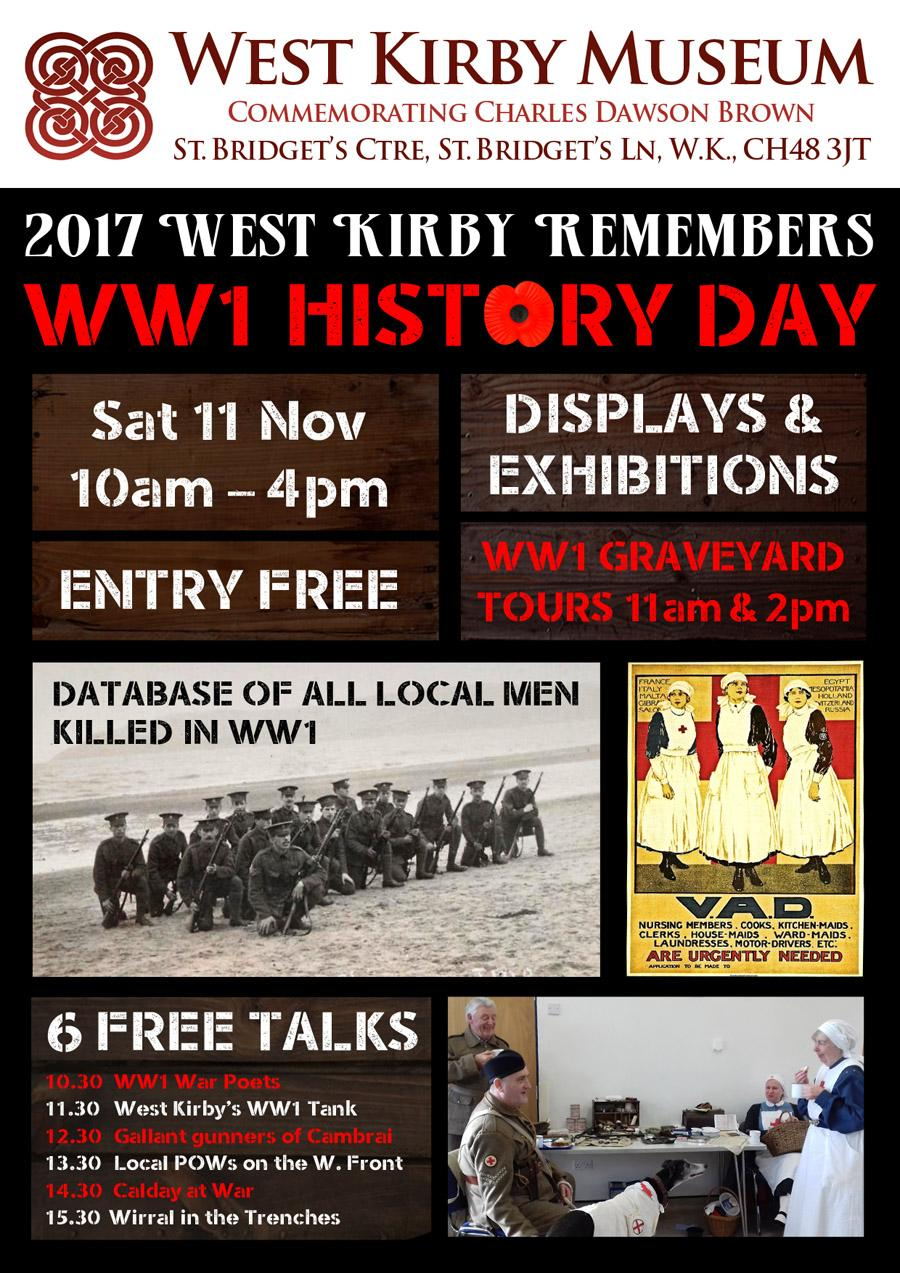 WW1 History Day at West Kirby Museum