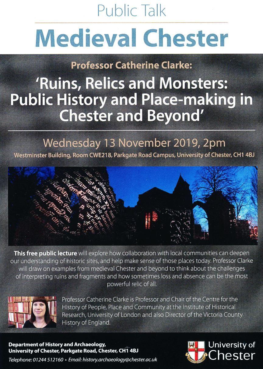 Public Talk Medieval Cheshire