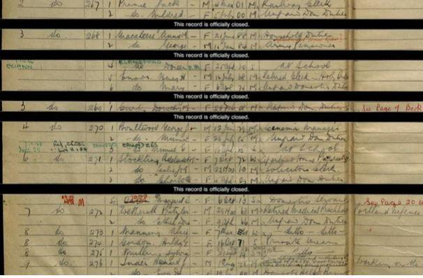 Free access to some Ancestry records