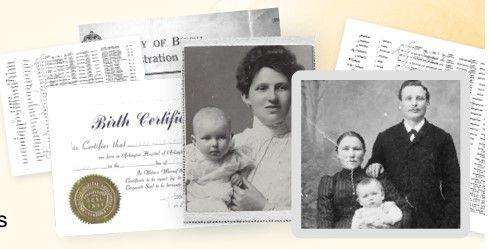 Free Access to Birth Records at My Heritage
