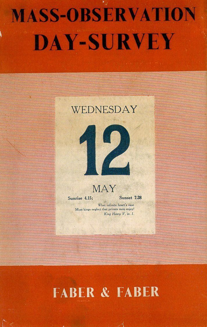 May 12th - Mass Observation Day