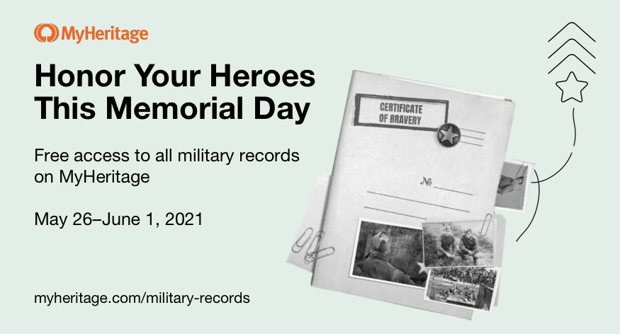 Free MyHeritage Military Records Access