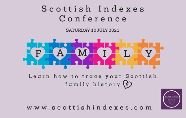Scottish Indexes Conference XI - 10 July 2021