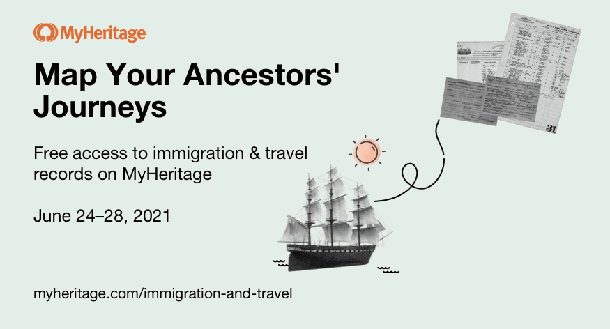 Journey to the Past with Free Immigration & Travel Records!