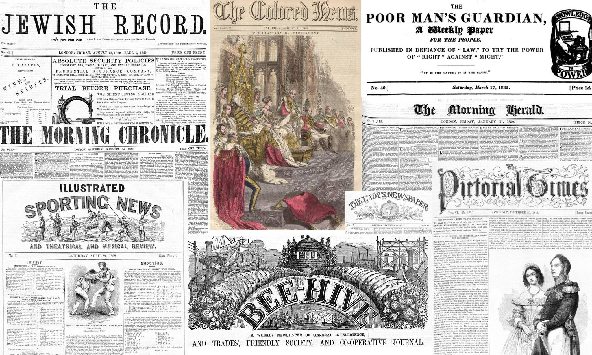 Explore Over One Million Historical Newspaper Pages for FREE
