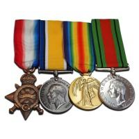 Researching Military Medals. Now cancelled due to the coronavirus pandemic.