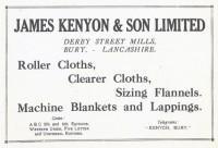 "Terry Dean ""My Favourite Ancestor"" A talk about James Kenyon, a textile entrepreneur"