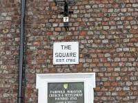 Fairfield Square plaque