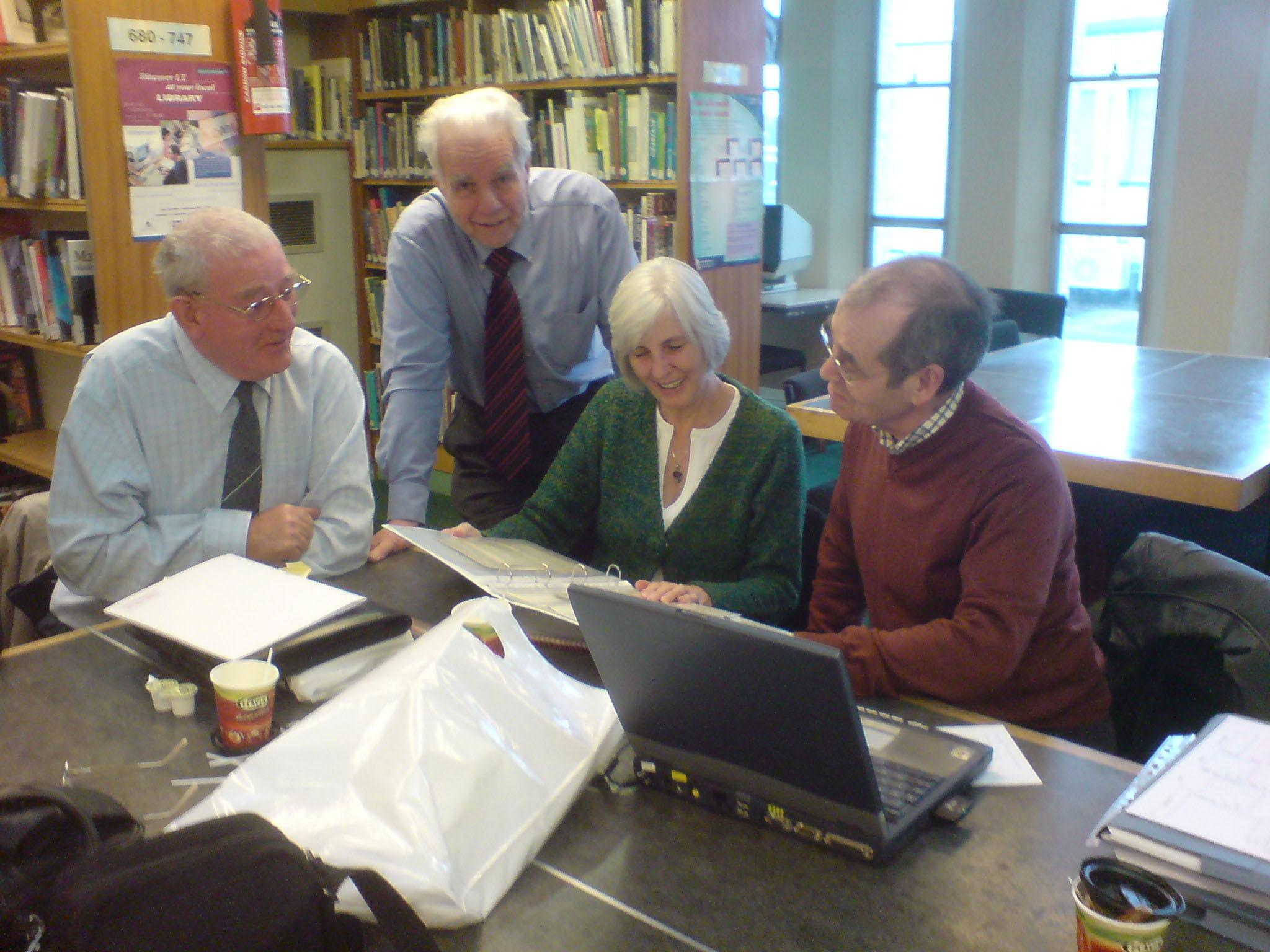 George Highton, June Pennell, Alan Ingram & Bob Wright, among others, can help with your research.