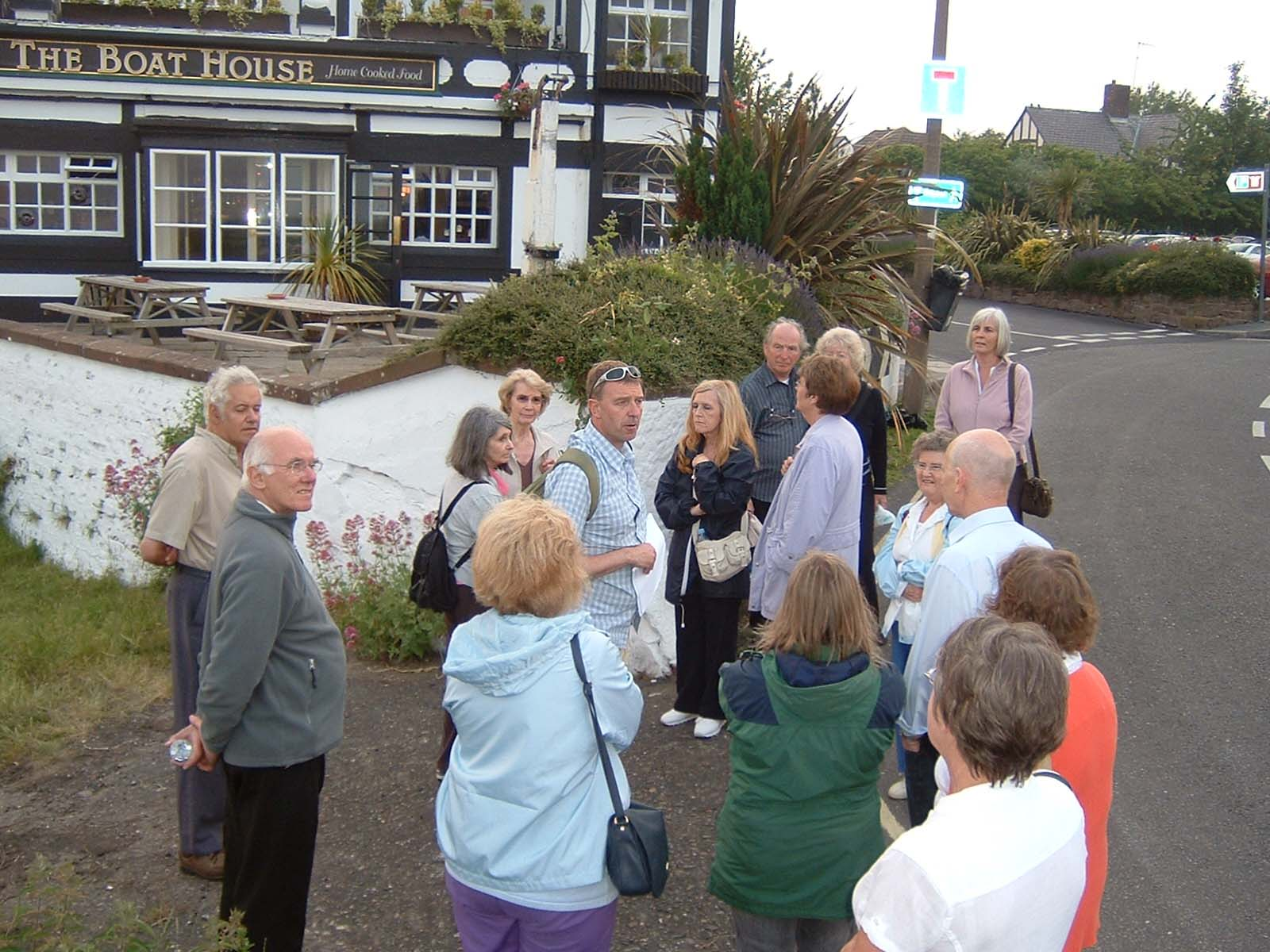 A guided walk around Parkgate.