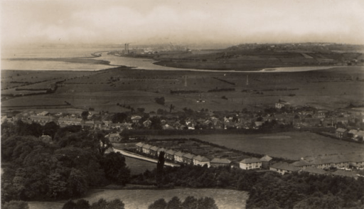 Mersey from overton hill
