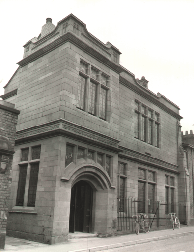 GRADE II Egerton Street Library (now closed)