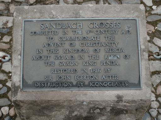 Saxon cross text