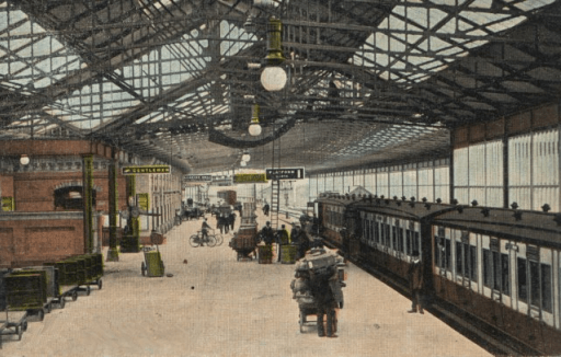 Crewe Railway Station Platform 1