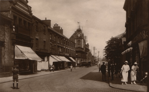 Crewe Earle Street