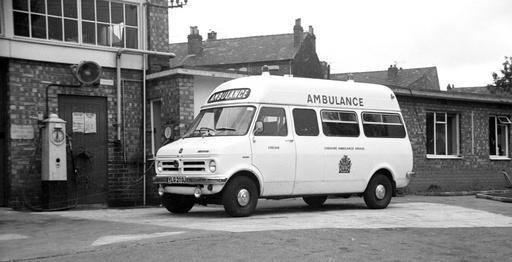 Crewe Ambulance Station 1972