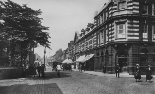 Crewe Junction Market Street Chester Street