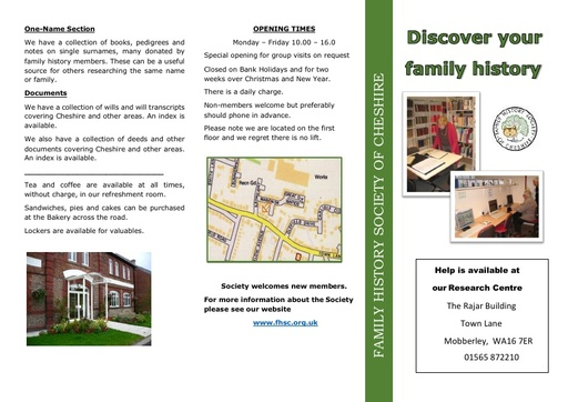 Mobberley Research Guide