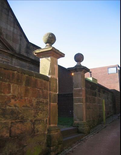GRADE II GATES OF CHESSHYRE LIBRARY HALTON