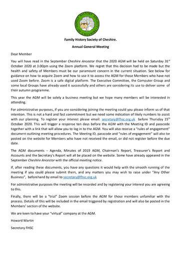 Email notice of AGM (final)