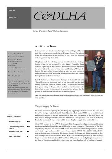 C&DLHA Spring Newsletter