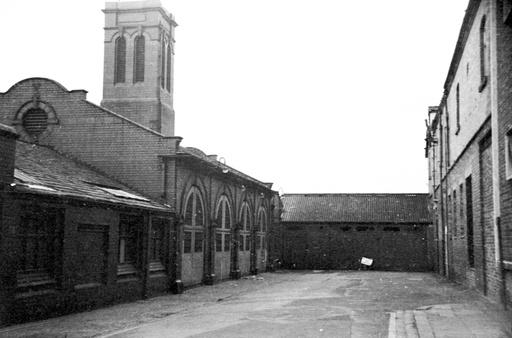 Crewe Fire Station 1972