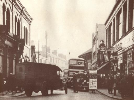Burton's corner Market St.