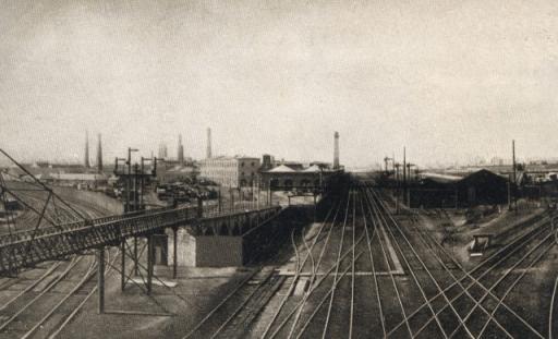 Crewe Railway Spider Bridge